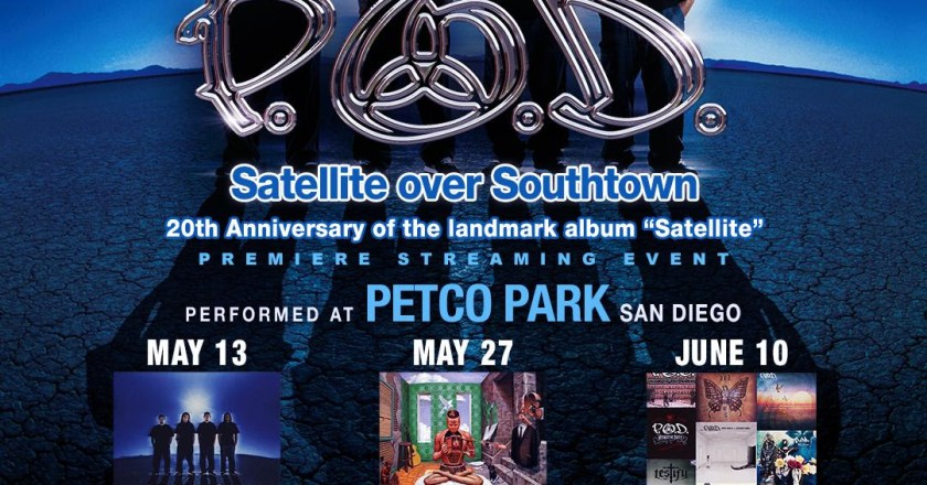"""(Music Musings) Madness To Creation Podcast Ep. 43:  """"Satellite Over Southtown Livestream Review"""" by P.O.D."""