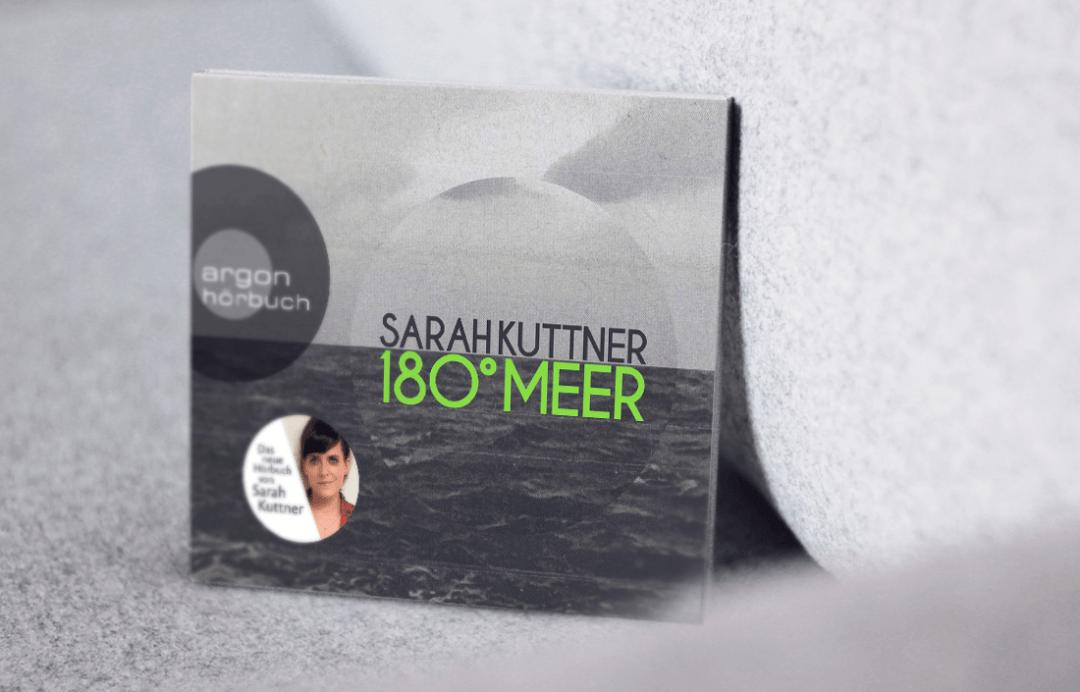 Sarah Kuttner - 180 Grad Meer - Buchkritik, Hörbuch Kritik schonhalbelf Buchblog
