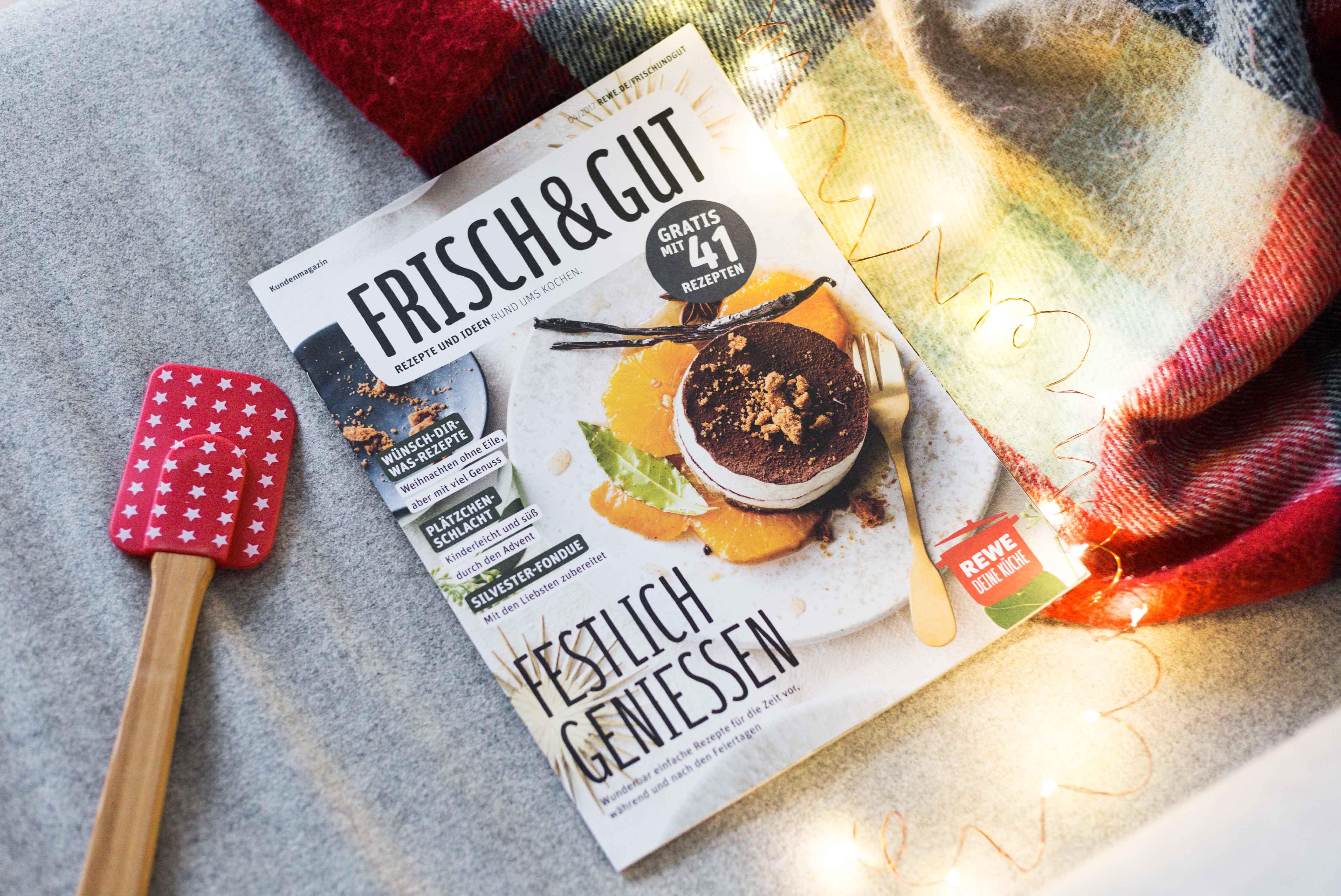 Das REWE Magazin Frisch & Gut im Zeitschriftencheck