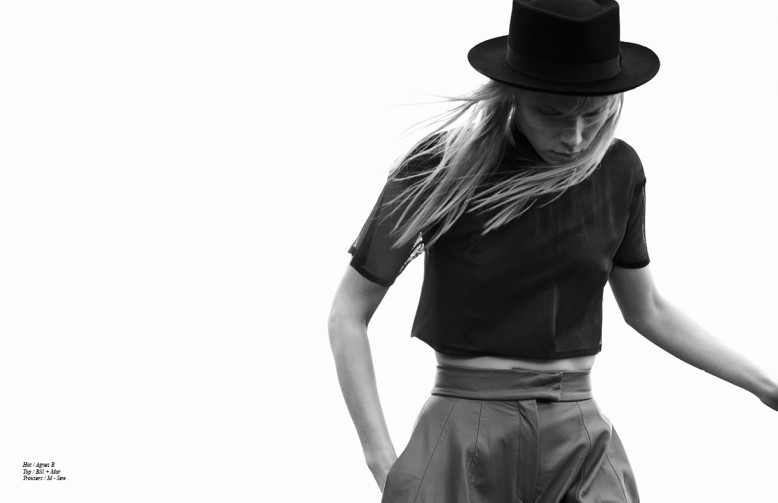 Hat / Agnes B Top / Bill + Mar  Trousers / M - Sew