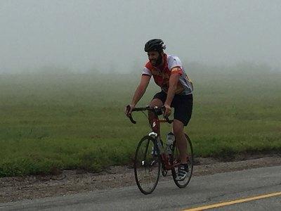 Biking along the Schoodic Byway
