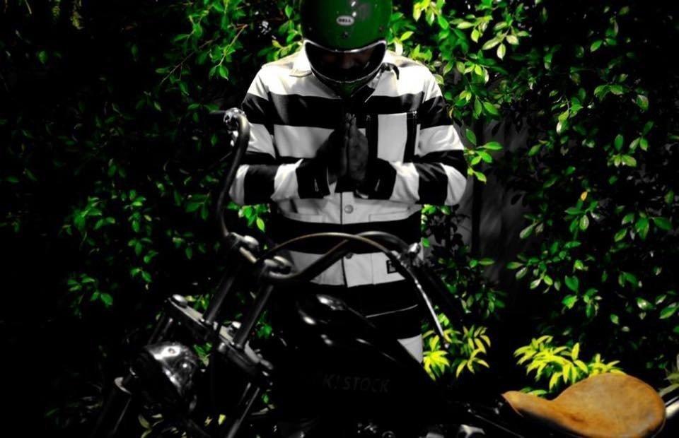 veste biker prisonnier G63-FST PRISONER