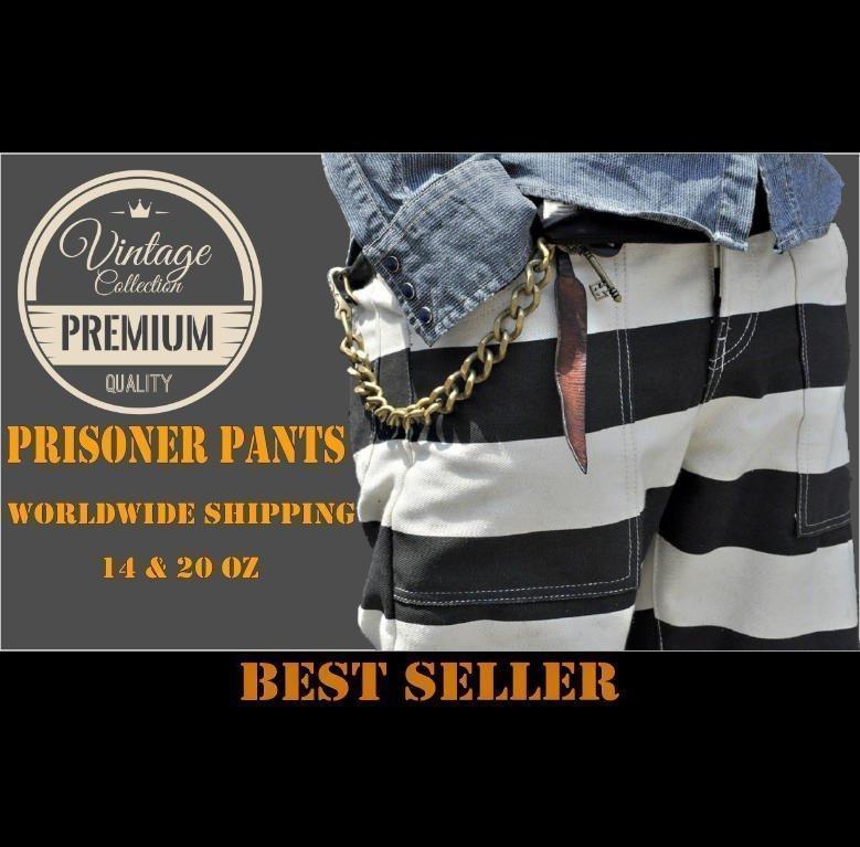 vetement bagnard prisonnier