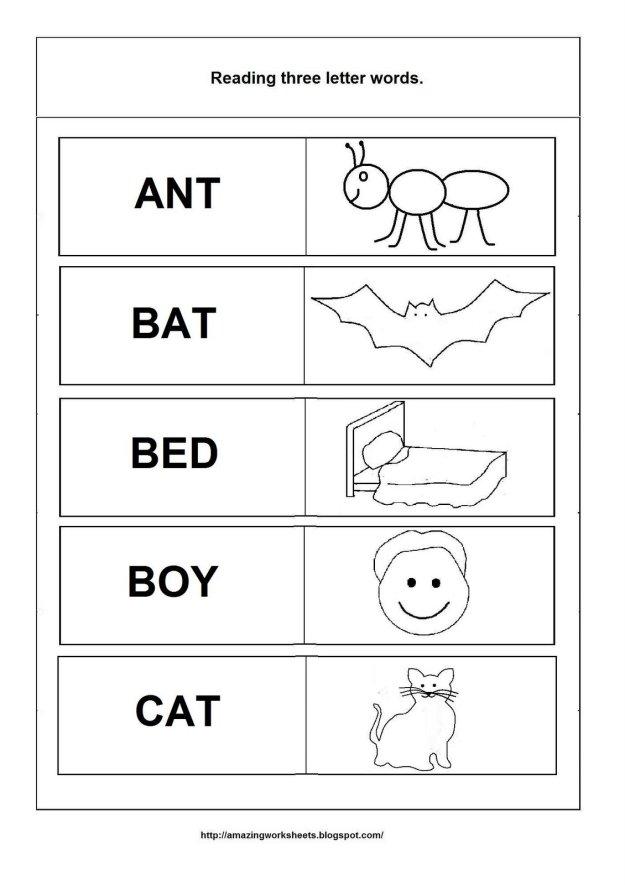 Beginning English Worksheets #5