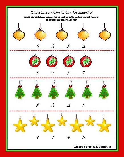 Christmas Music Worksheets #2