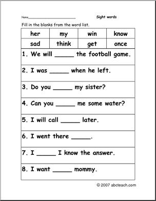 Cloze Practice Worksheets #3