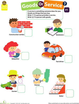 Community Worksheets For First Grade #4