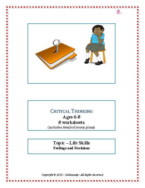 Critical Thinking Skills Worksheets #3