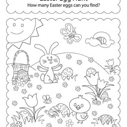 Easter Activity Worksheets #4