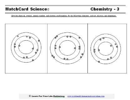 Easy Chemistry Worksheets #2