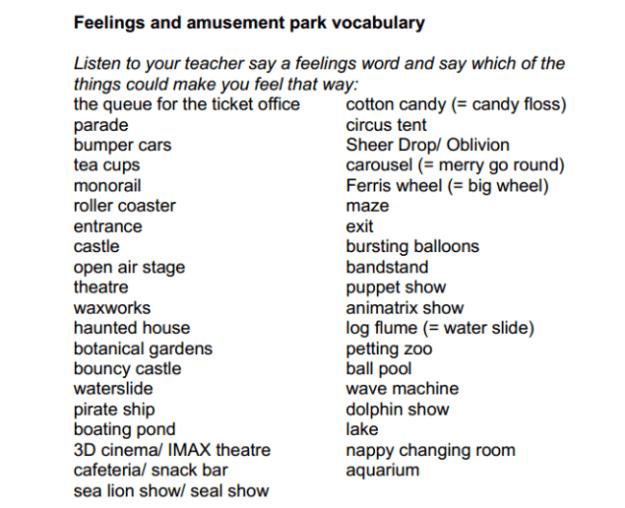 Esl Vocabulary Worksheets #5