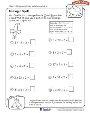 Fourth Grade Spelling Worksheets #3