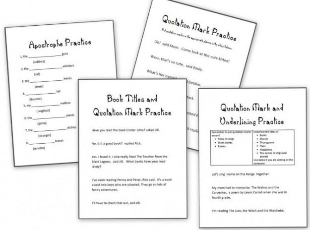Free Printable Capitalization Worksheets #3