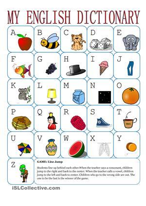 English Alphabet Worksheets Esl #4