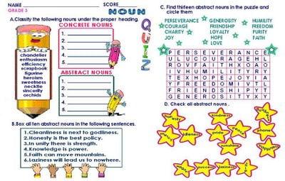 Grade 3 Worksheets #2