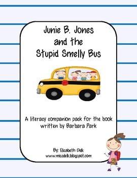 Junie B Jones Worksheets #4