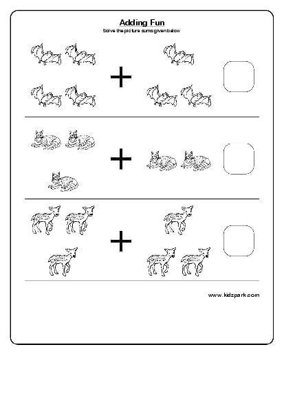 Kids Worksheets Kindergarten #1