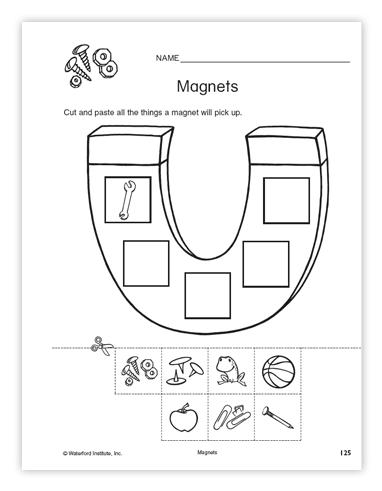 Magnet Worksheets For Kids #2