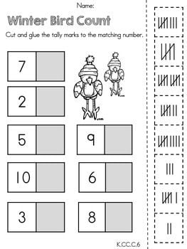 Math Worksheets Kinder #2