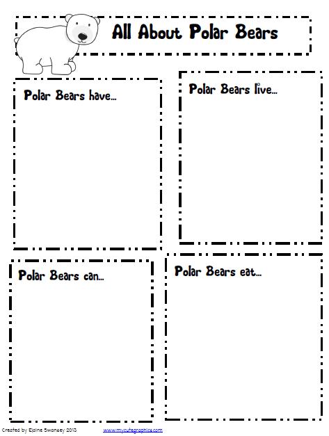 Polar Animals Worksheets #3