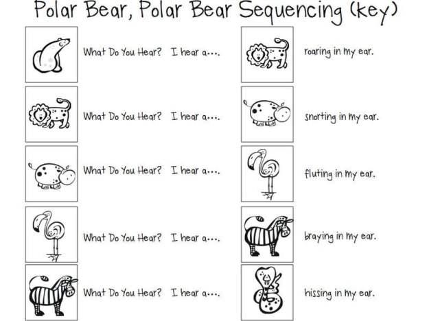 Polar Animals Worksheets #5