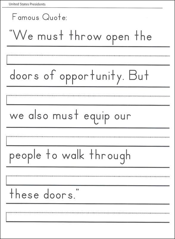 Practice Handwriting Worksheets #2