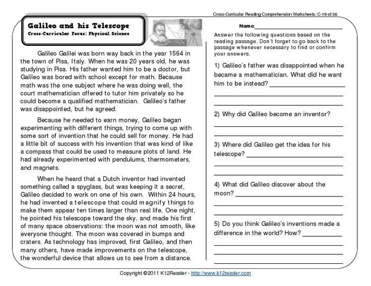 Reading Comprehension Worksheets In Spanish – Mreichert Kids Worksheets