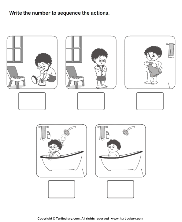 Sequence Picture Worksheets #2
