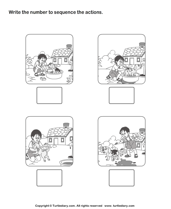 Sequence Picture Worksheets #3