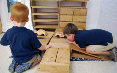 The Stages of Play in Early Childhood