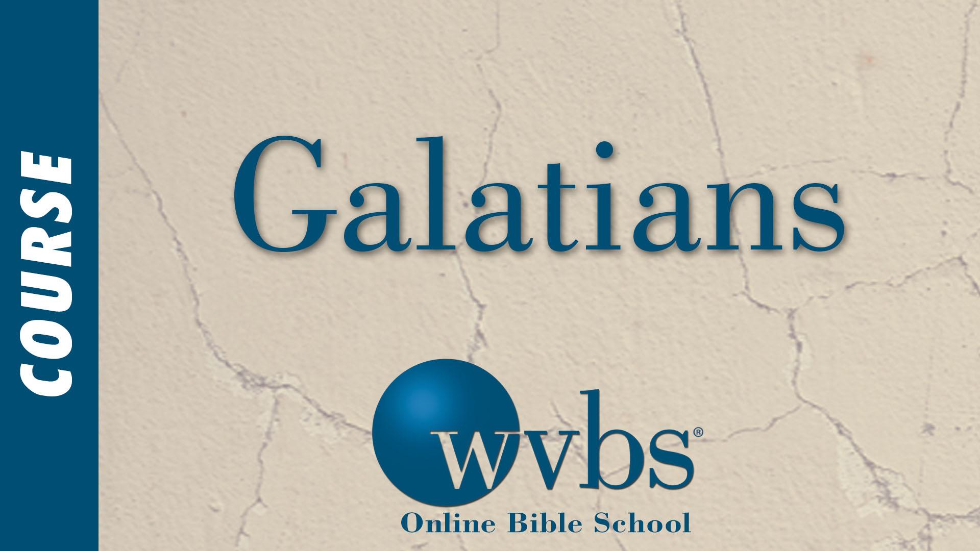 Galatians Bible Course