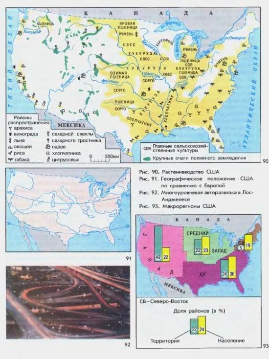 Максаковский география 10 класс учебник краткое содержание