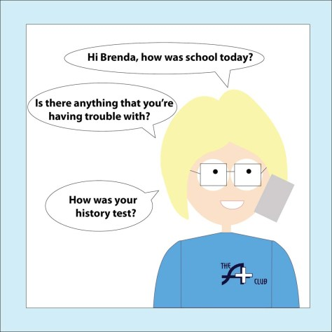 Brenda & Her Mom: Brenda learns the Quadratic Formula