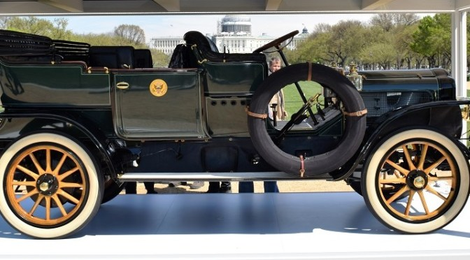 "First Presidential Auto on Display on National Mall: Taft Biographer Michael Bromley Joins Celebration of Historic Vehicles in ""Cars at the Capital"" Event"