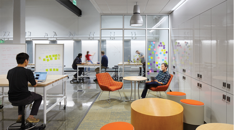 At Duke University In Durham NC Gross Hall Was Transformed Into A Collaborative Center Of Centers Connecting The Schools Business Law