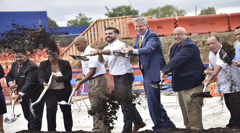 Officials Break Ground on East New York School
