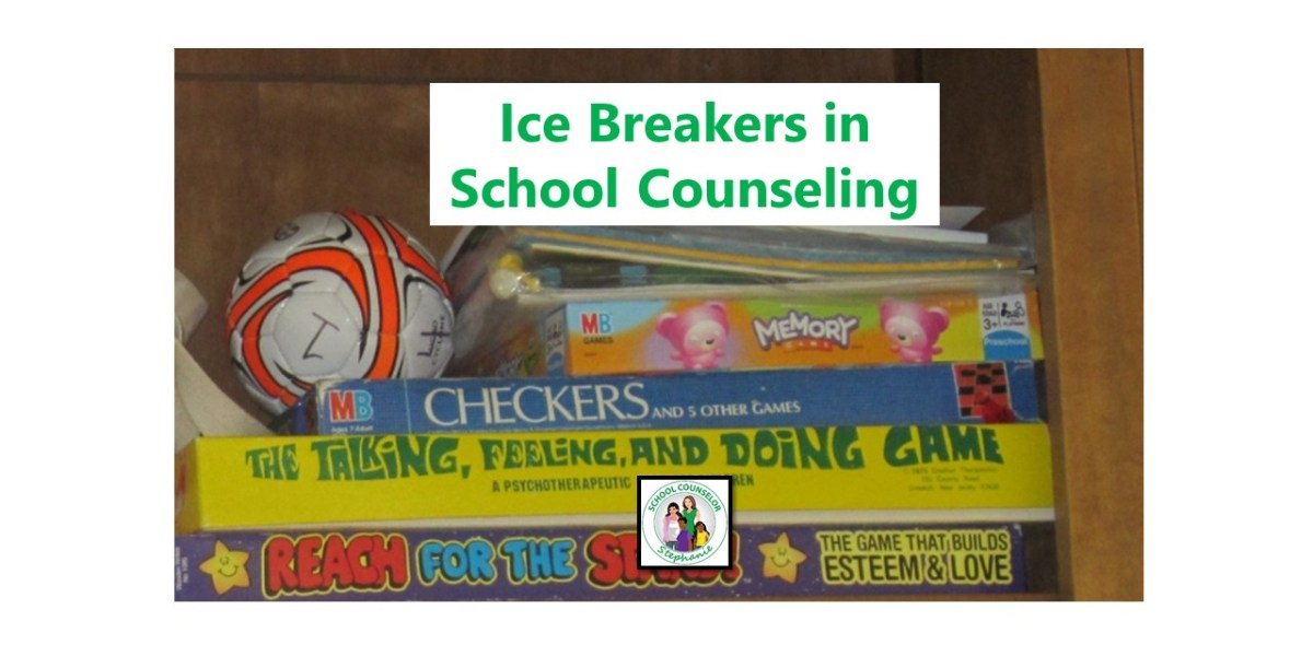 Ice Breakers in School Counseling
