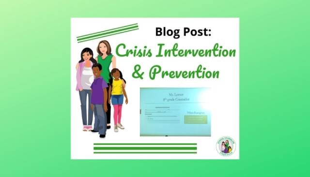 Crisis Prevention & Intervention in School Counseling