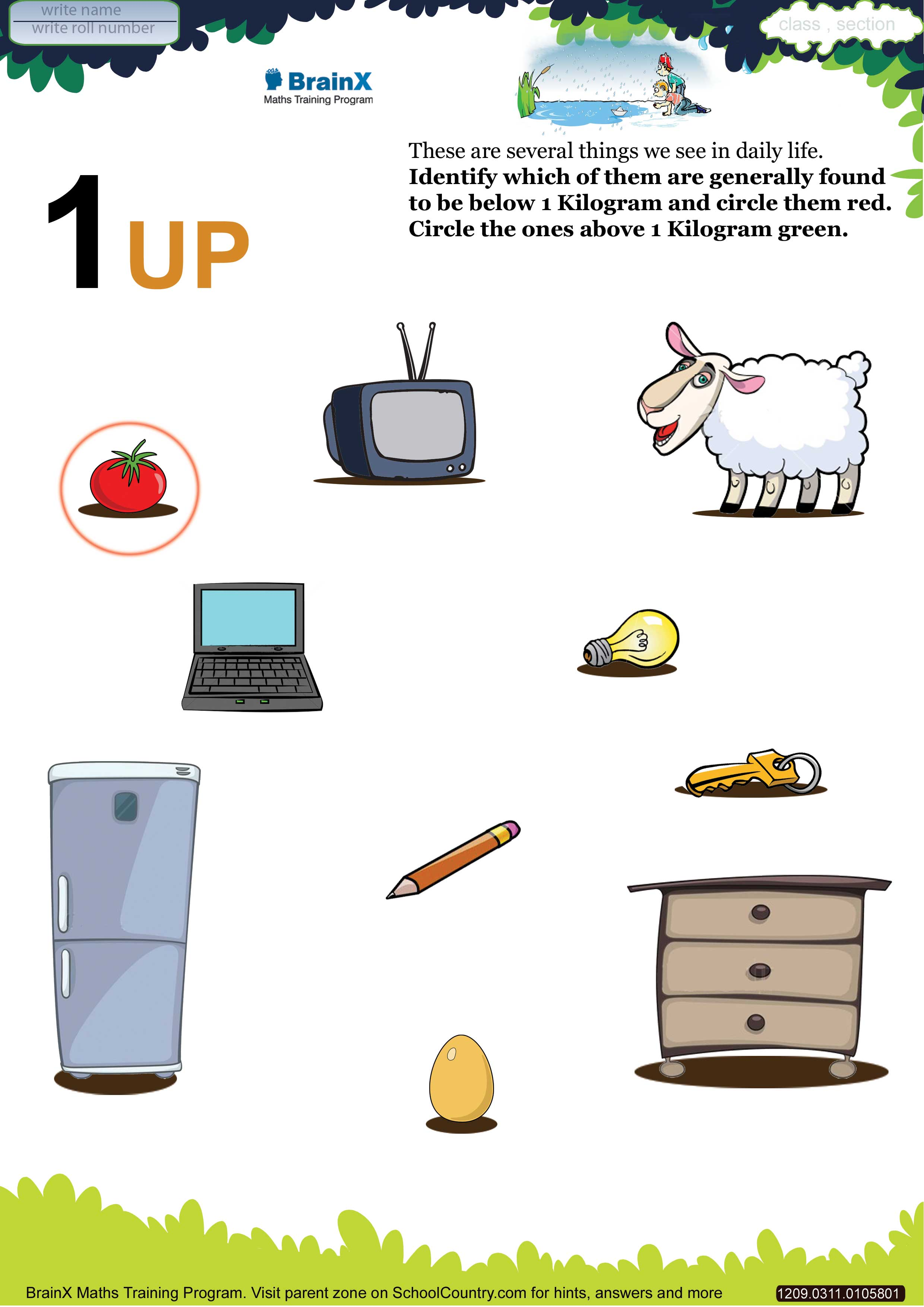 Grams And Kilograms Worksheets 3rd Grade