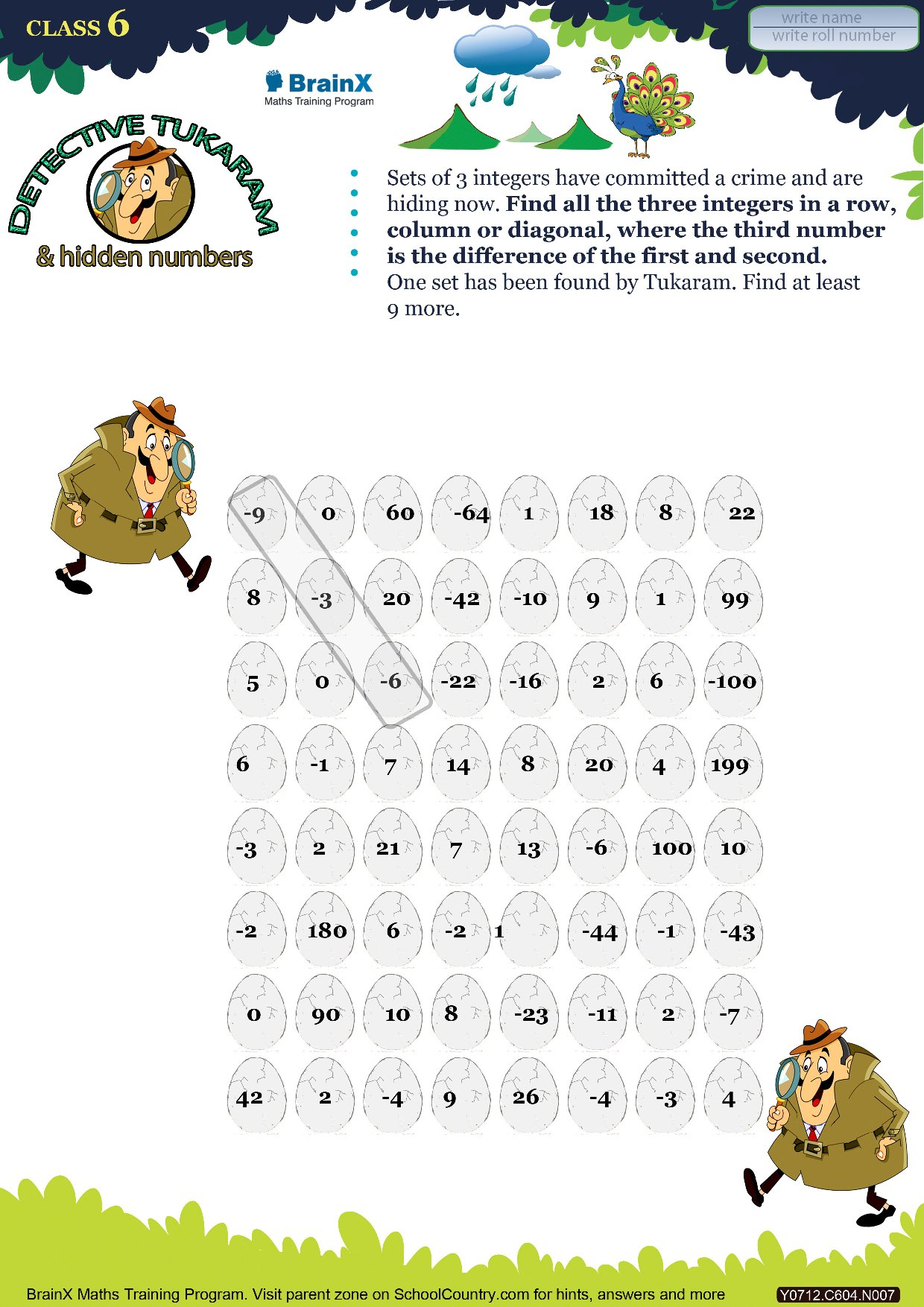 Printable Numbers Math Olympiad Worksheets For Kids Of