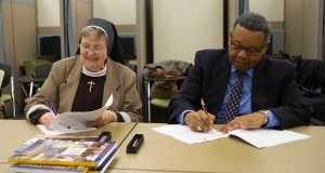 Sign Language Studies Dual Degree Program Signing Ceremony