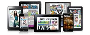 PHOTO BY AP  PRESS READER BLOG With new types of technology and the continual need for current events, journalism will stay in business, but news will increasingly be read on items such as tablets, cell phones and laptops instead of print newspapers.