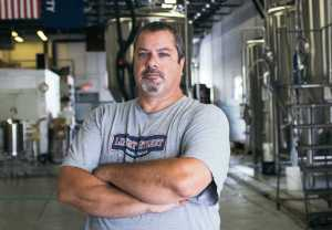 Master Brewer and the Face of the Liberty Street Brewing Company, Joe Walters, Stands tall and excited with his partnership with Schoolcraft College to cultivate young minds trained in the art of brewing on Sept. 2.