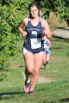 In the Titan Invitational, Grace Doolittle cut down her time by about two and a half minutes from the Golden Grizzly race the week prior.