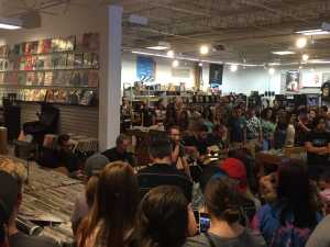"""The Wonder Years play an intimate show at Dearborn Music on Sept. 1 before the release of their latest album """"No Closer To Heaven"""" Photo by: Austin Vicars"""