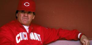 Image from cincinnati.com Former Cincinatti Reds manager and player Pete Rose should be in the Baseball Hall of Fame.