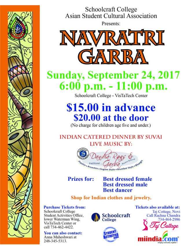 Navratri Flyer 2017