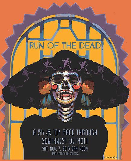run of the dead logo