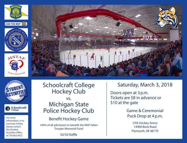 Hockey Club MSP Memorial Fund Flier