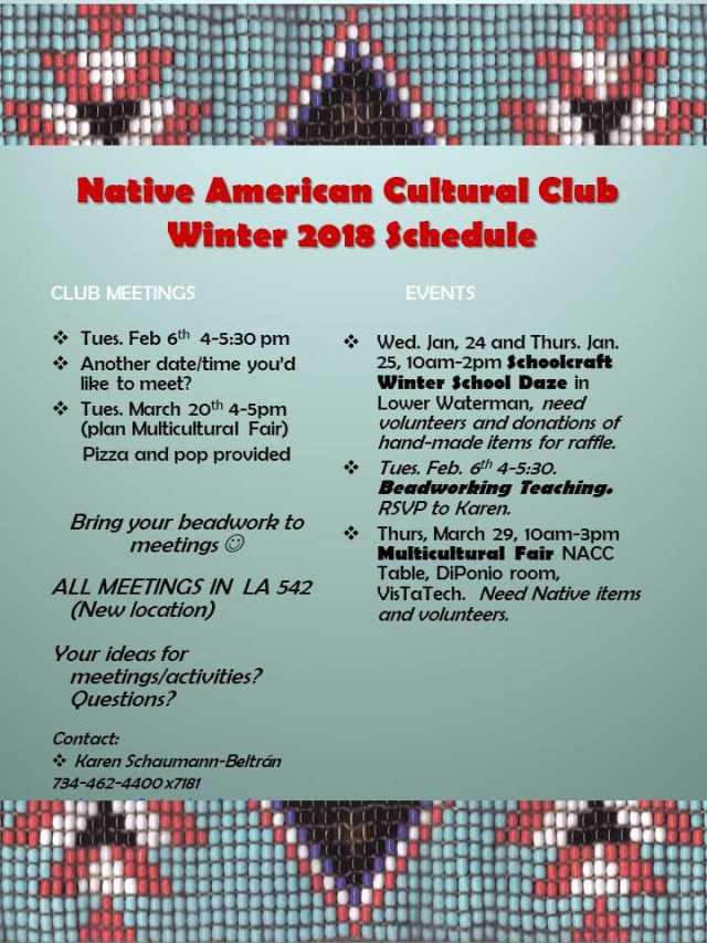 Native American ad for winter 2018